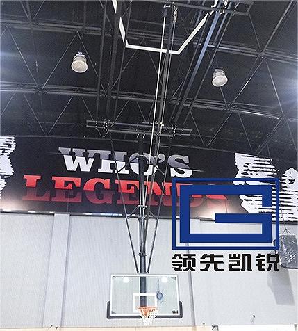 体育篮球架场馆篮球架吊顶式篮球架电动悬空篮球架折叠式篮球架