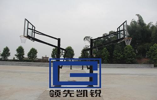 凯锐高度可调篮球架海燕式篮球架固定式篮球架