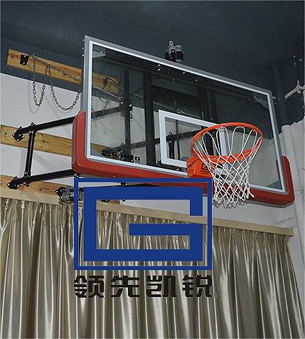 凯锐壁挂式篮球架墙面篮球架厂家挂墙式篮球架