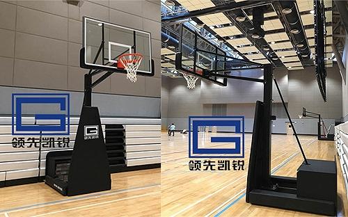 单柱美式快速装拆式篮球架