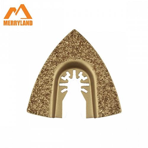 多功能電動工具 三角形硬質合金磨片