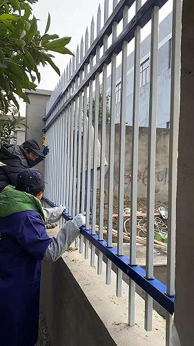 盐城围墙护栏 盐城镀锌护栏定制划算