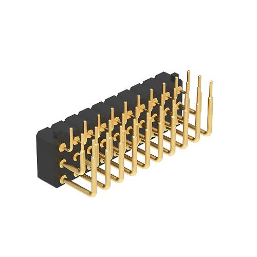 3.00H4.0三排90度DIP平面帯柱