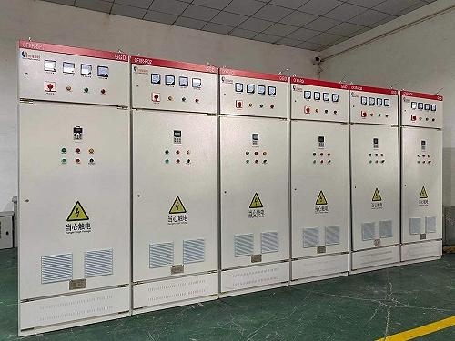 低壓交流變頻配電柜 PLC控制柜 北京