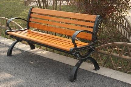 廠家熱銷戶外休閑椅公園長條椅YT-S34