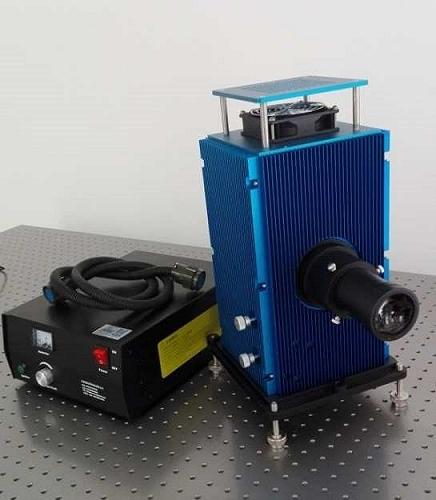 HL系列鹵鎢燈光源 光譜測試