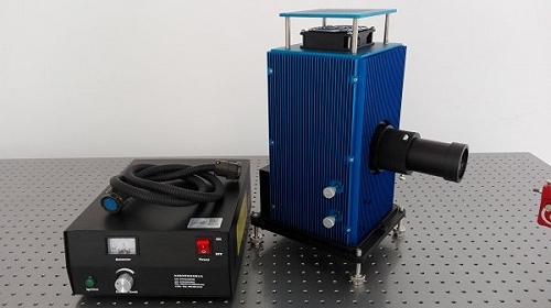 HL250 科研鹵鎢燈 光譜測試