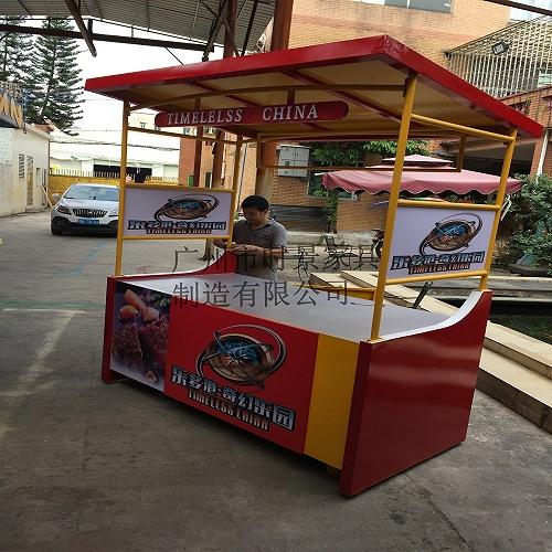 商業街移動售賣車 小吃美食節售賣亭