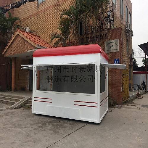 供應商業街,旅游區實木制售貨亭 售賣車