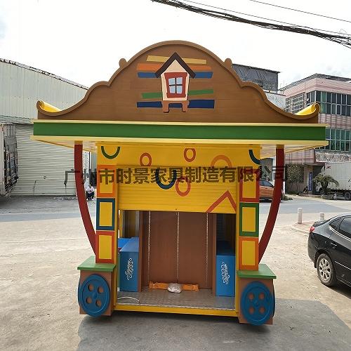 清遠英德景區售賣亭 從化街道冰淇凌售賣車