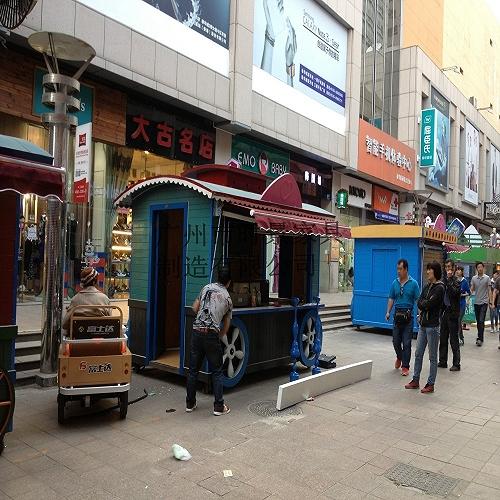 零售簡易售賣亭 移動美食鋪