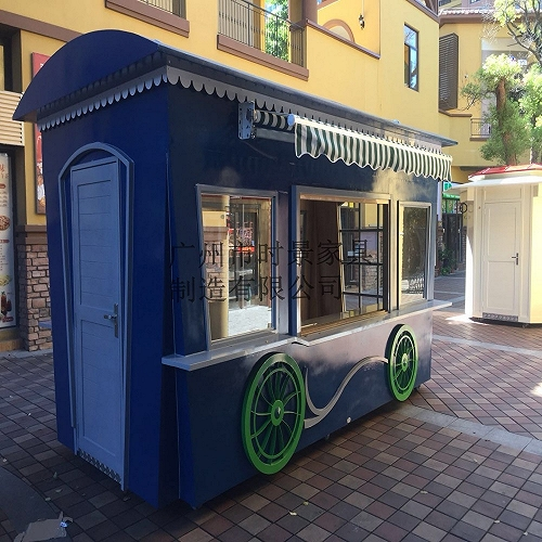 景區流動奶茶餐車 時景售賣亭