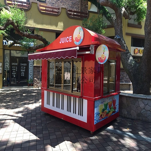 戶外小吃奶茶售貨亭 小吃亭