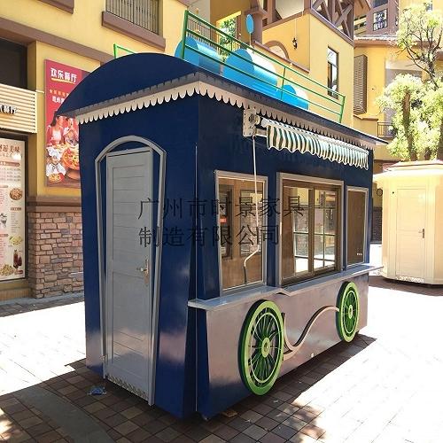 美食街售貨亭 戶外移動販賣車
