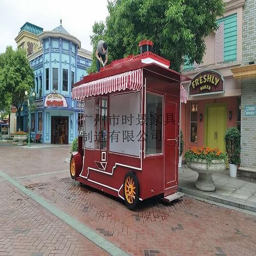 游乐园早餐面包车 广场服装专卖店车