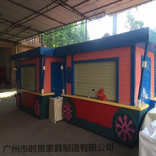 公园乐园售货车 零食小吃售卖车订做