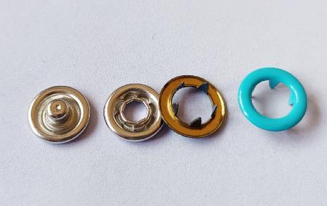 青岛童装9.5mm五爪扣