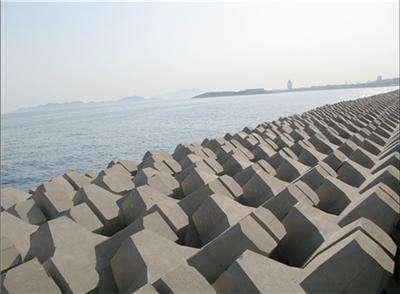 混凝土防浪石模具 防浪石鋼模具表面光潔