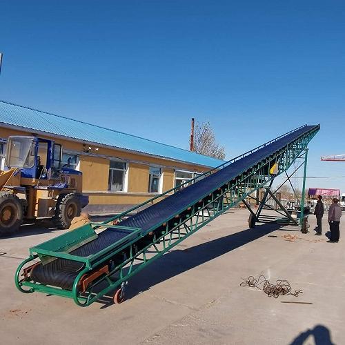 帶式輸送機平穩連續工作增加糧庫入倉量