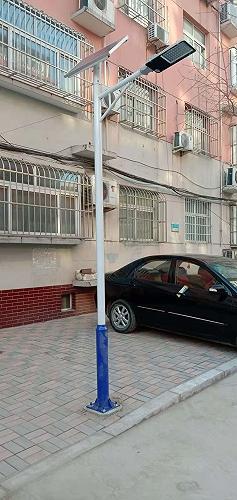 河北新農村太陽能路燈廠家供應