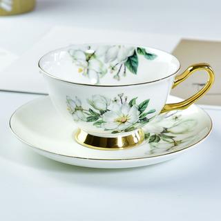 唐山唯奥骨质瓷咖啡杯碟套装可定logo