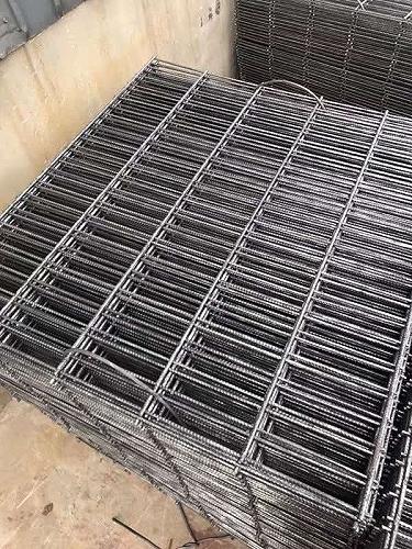 雙向鋼筋網片-d12帶肋鋼筋網-鼎久絲網