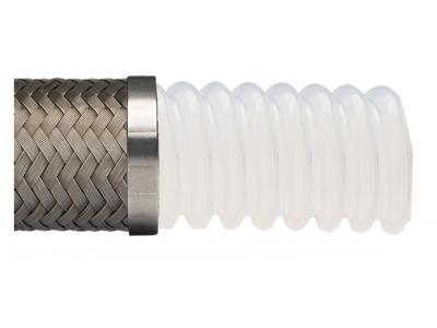 輕型波紋(導電)PTFE金屬特氟龍軟管