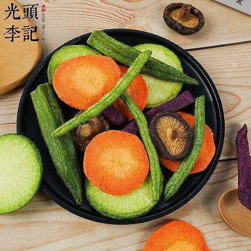 綜合蔬菜脆果蔬脆廠家原料散貨供應生產加工