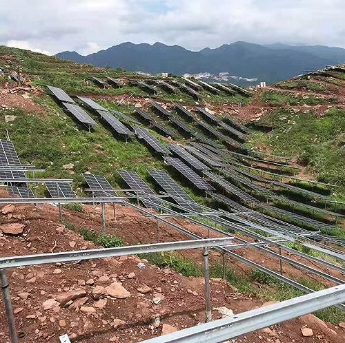 晶天光伏組件300W山區光伏電站太陽能板