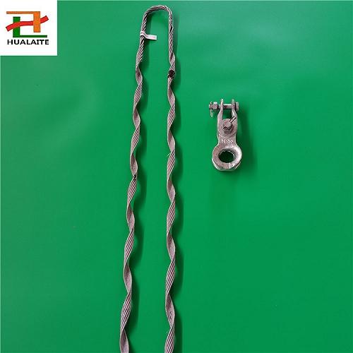 小拉力ADSS耐張線夾單層預絞絲拉線金具