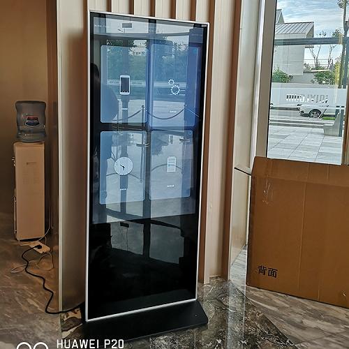 成都广告机55英寸立式竖屏触摸一体机