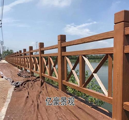 廣東仿木欄桿生產廠家價格,混凝土仿木欄桿