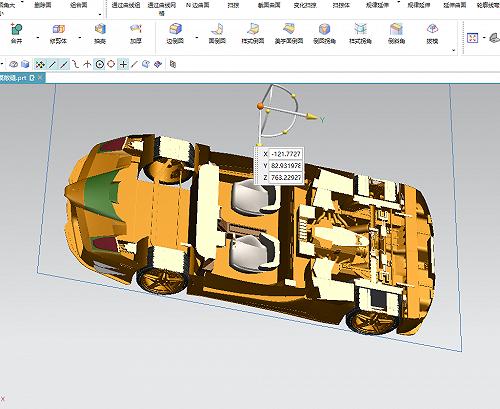 車模畫3D圖,玩具小汽車模型設計