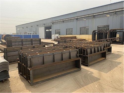 鐵路橋面遮板模具 預制混凝土遮板制造廠家 定做生產