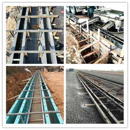流水渠鋼模板_混凝土水渠建設_定型模