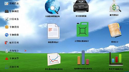 智的車輛管理系統/車輛管理軟件版