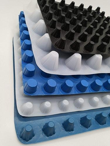 塑料排水板東營塊狀排水板工廠直銷