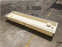 路基水泥電纜槽模具圖片-排水溝電纜槽模具