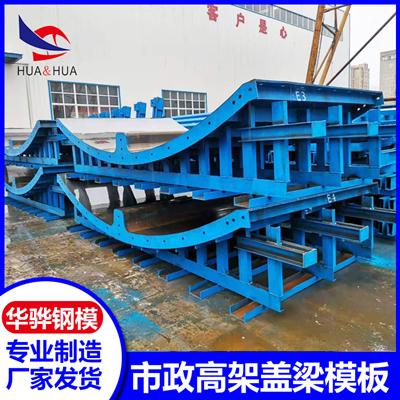 南京供應方市政高架蓋梁模板 廠家直營