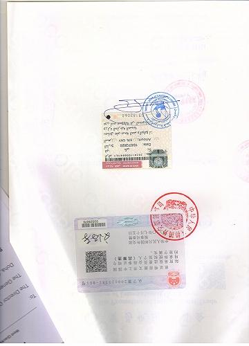 卡塔爾大使館認證