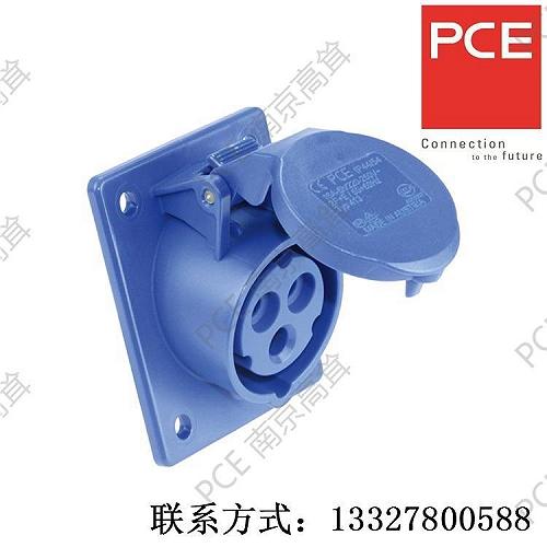 PCE插座 法蘭插座 413-6