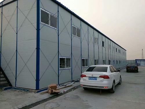 晉城彩鋼房大批量使用 晉城簡易房工人宿舍