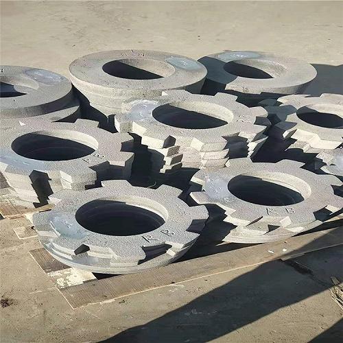 高錳鋼碎煤機圓環錘破碎機齒環錘耐磨環錘