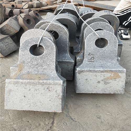 錘式破碎粉碎機高鉻合金雙金屬復合耐磨錘頭