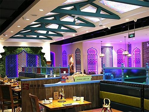 青島餐飲店鋪商業空間裝修設計