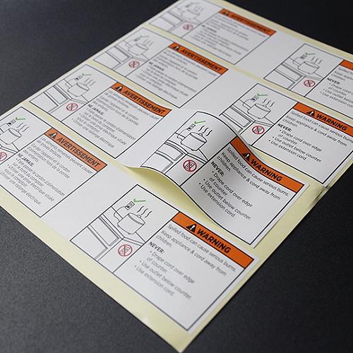 UL認證標簽 UL817美規電源線貼紙