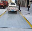 優科衡器噸位100噸長度10米工廠地磅