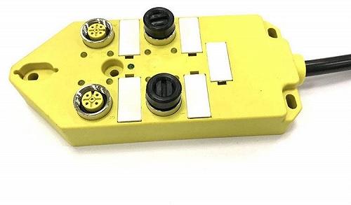 M12總線I/O分線盒4口4點