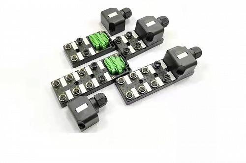 M12 4口8口端子式現場接線型分線盒