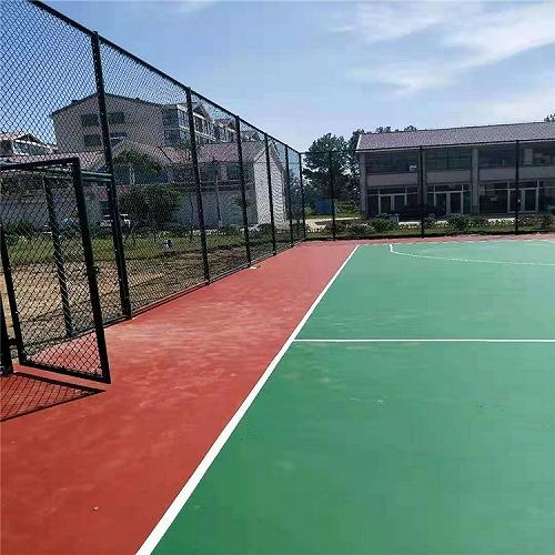 绿色足球场围网体育场围网学校体育场围网